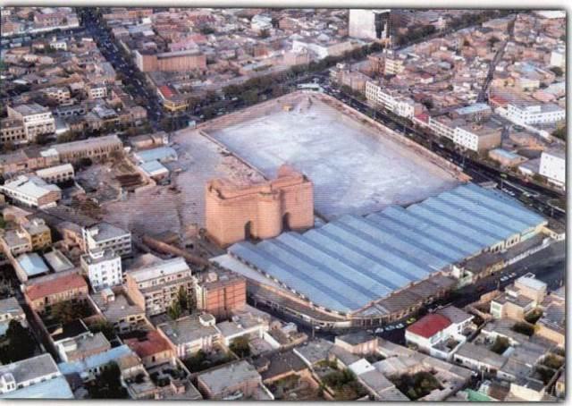 ارگ تبریز (مسجد علیشاه)