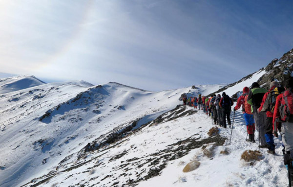 قله برف انبار